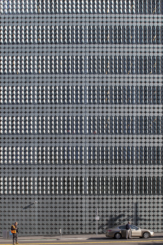 Architecture Photography, Commercial Photography, RMIT, Design Hub, Melbourne, Australia, Building Facade, Unusual Facade
