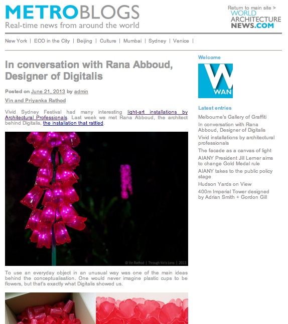 vivid sydney, digitalis, light art, art photography, article, interview, making art installation