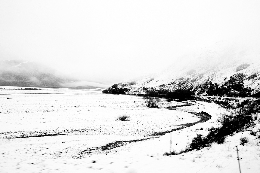 Snow, Arthur Pass, South Island, New Zealand