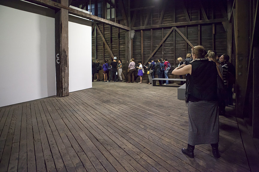 13 Rooms, 13Rooms, Kaldor Art Project, Pier 2/3, exhibition, sydney, australia, queue
