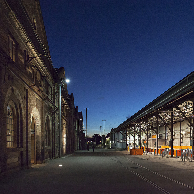 Architecture photography, Commercial Photography, Carraigeworks, Blue hour, magic hour, heritage building, sydney, australia, Eveleigh